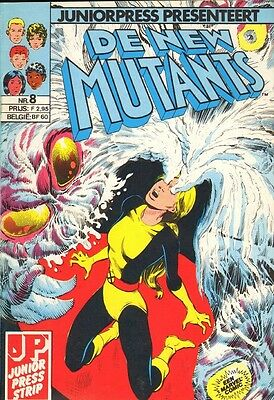 New Mutants Junior Press 08 - Bangerik (1986)