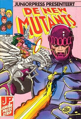 New Mutants Junior Press 20 - Toekomst (1988)