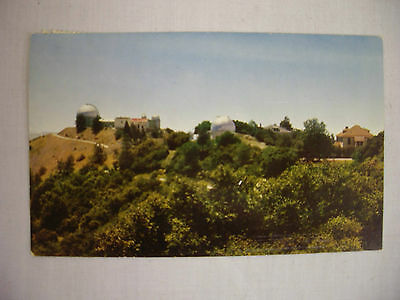 Vintage Photo Postcard Lick Observatory At San Jose California 1964