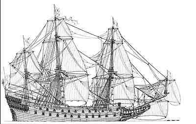 Collection of 50 high quality model ships plans on CD