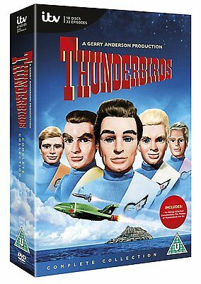 ❏ Thunderbirds 50th Anniversary Collection + Special Features DVD Box Set New ❏