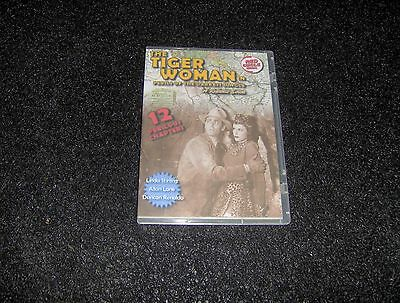 The Tiger Woman Cliffhanger Serial 12 Chapters 2 Dvds