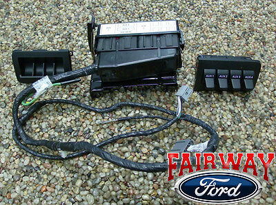 11 thru 16 super duty f250 f350 f450 f550 oem ford in dash 2008 2009 super duty f250 f350 f450 f550 oem ford in dash upfitter switch kit