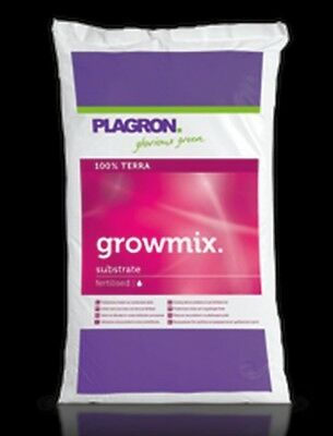 50 Litre Bag of Plagron Growmix  Substrate 100% Terra