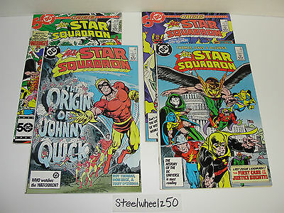 All Star Squadron 50 56 65 67 4 Issue Lot DC Comics Justice Society America JSA