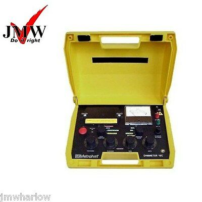 Fully Refurbished Metrohm Bridge Ohmmeter Bt Type 18C Cable Fault Tester Locator