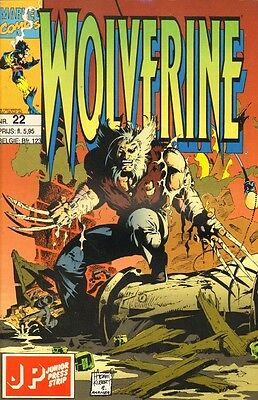 Wolverine Junior Press Strip 22 - (1994)
