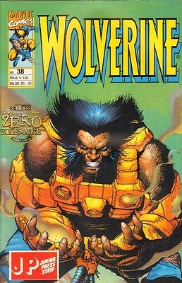 Wolverine Junior Press Strip 38 - (1997)