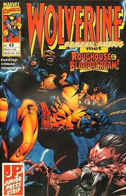 Wolverine Junior Press Strip 42 - (1998)