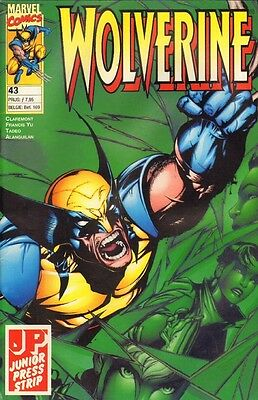 Wolverine Junior Press Strip 43 - (1998)