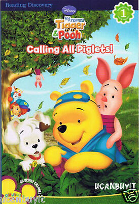 Reading Discovery CALLING ALL PIGLETS! Reading Level 1 Book Grade PreK-1 Ages 4+