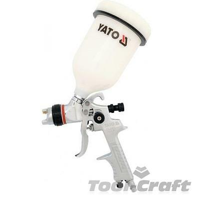 Yato professional HVLP air spray gun with fluid cup 1,5 mm; 0.6 L