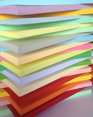 100 X SHEETS 170gm A5 COLOURED CARD  CHOICE OF COLOURS  A5 170gm HIGH QUALITY