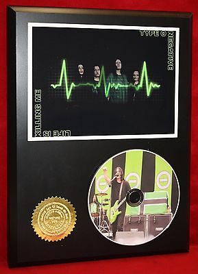 Type O Negative Limited Edition Picture Cd Disc Collectible Rare Gift Wall Art