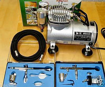 2010 Model Airbrush Kit Complete With Compressor As18