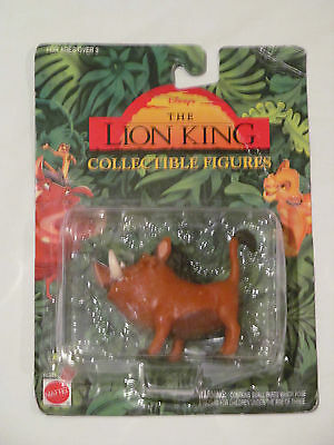 "Brand New ""pumba"" Disney The Lion King Collectible Figures 66381"