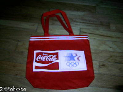 Coca Cola - 1980 OLYMPIC CANVAS TOTE BAG