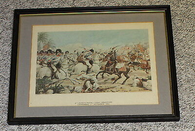 Framed Print 8th King's Royal Light Dragoons LASWARREE 1st Nov 1803-Simkin