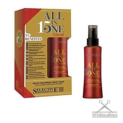 (€9,32/100ml) Selective ALL in ONE 15 Spray-Maske Kur für gefärbtes Haar 150ml