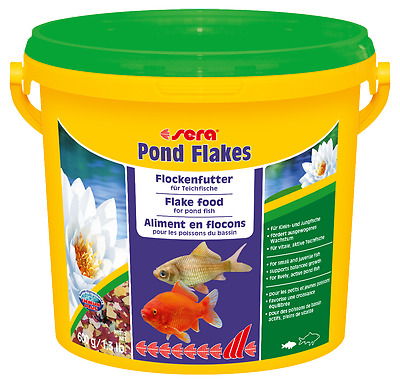 NOURRITURE BASSIN SERA POND FLAKES 3800 ML FLOCONS ref 7075