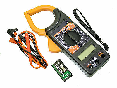 1000 Amp Clamp-on Multimeter AC/DC, Volts, Amps & Ohms