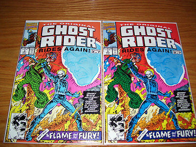 Marvel Comics GHOST RIDER RIDES AGAIN 1991 #3 different colors