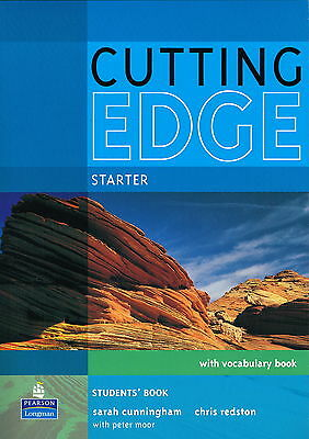 Longman CUTTING EDGE Starter Students' Book with Vocabulary Book & CD-ROM @NEW@