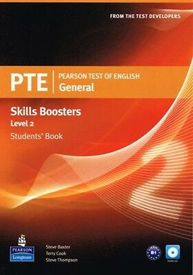 PTE | Pearson Test of English General Skills Booster Level 2 Students' Book @NEW