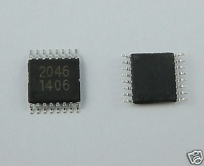 10Pcs XPT2046 TSSOP16 Touch Screen Controller IC Compatible With ADS7843