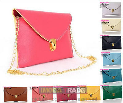 2012 Women's Fashion Shoulder Tide HandBag Clutch Chain Lady Purse Envelope Bag