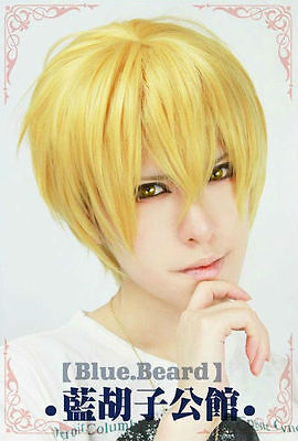 NEW Kuroko's Basketball Kise Ryota Short Cosplay Wig Party Full Wig