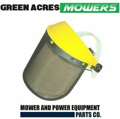 Chainsaw And Trimmer Safety Visor  Face Shield     Mesh Sheild