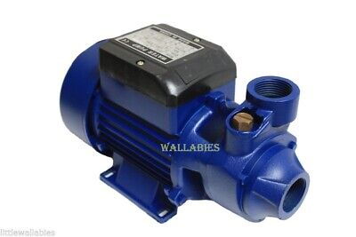 ALUMINUM BIODIESEL 1/2 HP ELECTRIC WATER PUMP POOL FARM POND Centrifugal
