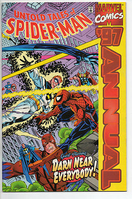 Marvel Comics UNTOLD TALES OF SPIDER-MAN 1997 Annual Bagged & Boarded FN