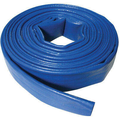 Silverline Flat Discharge Hose 40mm x 10 Metre Waterpump Water Pump 10m 868776