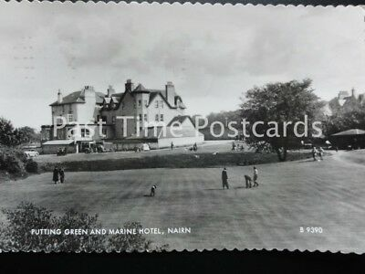 c1954 RP - NAIRN, Putting Green and Marine Hotel