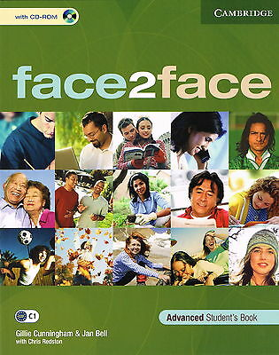 Cambridge FACE2FACE Advanced Student's Book w CD-ROM C1 | Cunningham Bell @NEW@