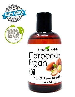 Organic Premium Moroccan Argan Oil | 4oz | Imported From Morocco | 100% Pure