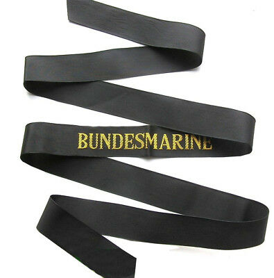 German Navy Sailors Cap Tally Bundesmarine