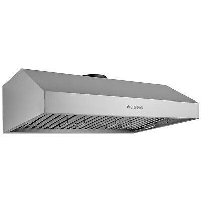 "GTC New 30"" Under Cabinet Stainless Steel Range Hood Powerful Ventilation"