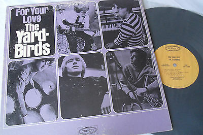 THE YARDBIRDS Original 1965 1st Press For Your Love MONO LP  LN-24167  JEFF BECK