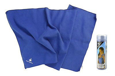"Aqua Sphere Aqua Dry Towel II 16""x32"" Chamois Microfiber Gym Pool Swim Sports"