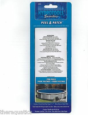 5pk VINYL REPAIR KIT Peel & Patch Pool Liners Inflatable Pool Cover NO MESS 8800
