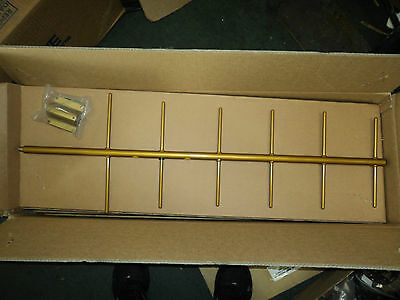 NEW Yagi Base Antenna UHF 450-470 MHz 6 Elements 10.2 dBd Gain W/ Mount And ALL!