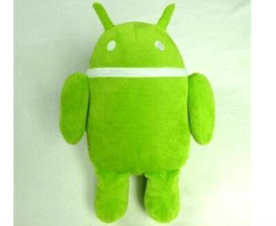 New Designer Green Google Android Robot Cute Plush Soft 8inch Toy Doll US Ship