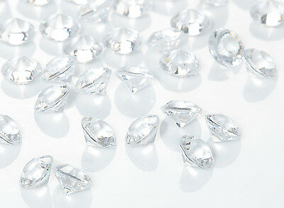 Table Crystals / Scatter Crystals 1000 x 6 mms Per Pack Wedding Table Decoration