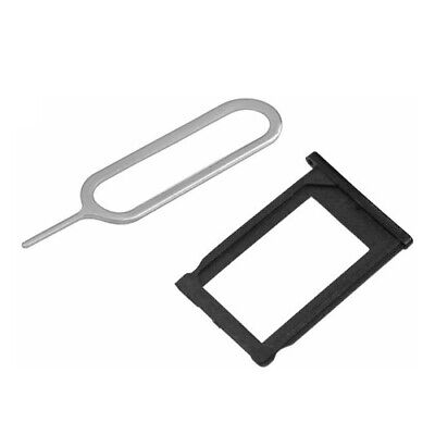 SIM CARD HOLDER TRAY PART BLACK + EJECT PIN SLOT TOOL FOR iPHONE 3G 3GS