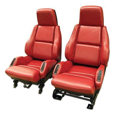 1984-1988 Corvette Leather Like Seat Covers for Sport Seats