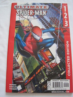 ULTIMATE SPIDERMAN  #s 1,2,3  COLLECTED EDITION 2002. By BENDIS & BAGLEY.MARVEL