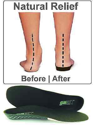 Slimflex Insoles Orthotic Heel /Arch Support Back / Knee Pain Relief